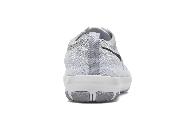 Chaussures de sport Nike W Nike Free Tr Focus Flyknit Blanc vue droite