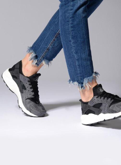 Sneakers Nike Wmns Air Huarache Run Prm Zwart onder