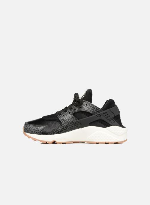 Sneakers Nike Wmns Air Huarache Run Prm Zwart voorkant