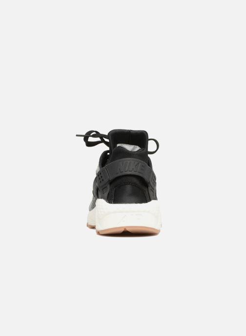 Sneakers Nike Wmns Air Huarache Run Prm Sort Se fra højre