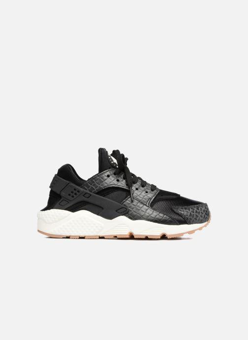 Sneakers Nike Wmns Air Huarache Run Prm Zwart achterkant