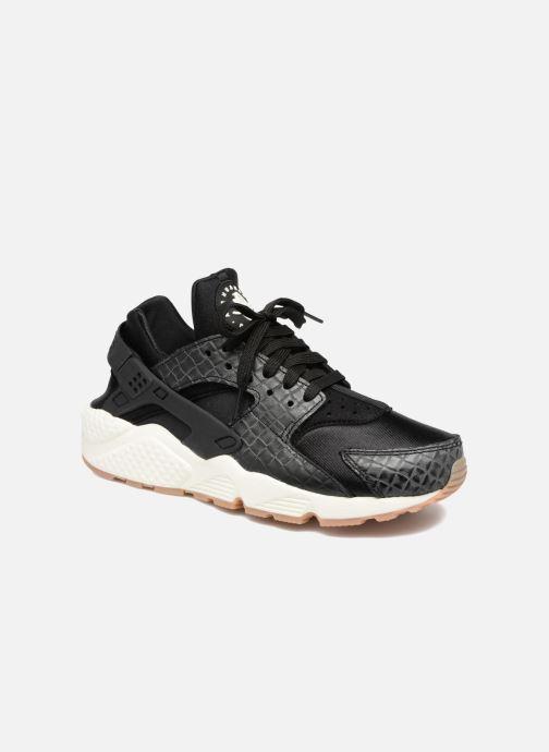buy online f4fad d8521 Trainers Nike Wmns Air Huarache Run Prm Black detailed view  Pair view