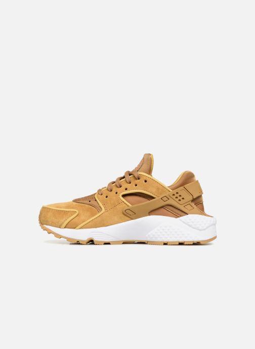 Sneaker Nike Wmns Air Huarache Run Prm gelb ansicht von vorne