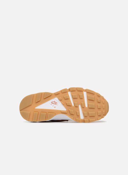 Baskets Nike Wmns Air Huarache Run Prm Rose vue haut