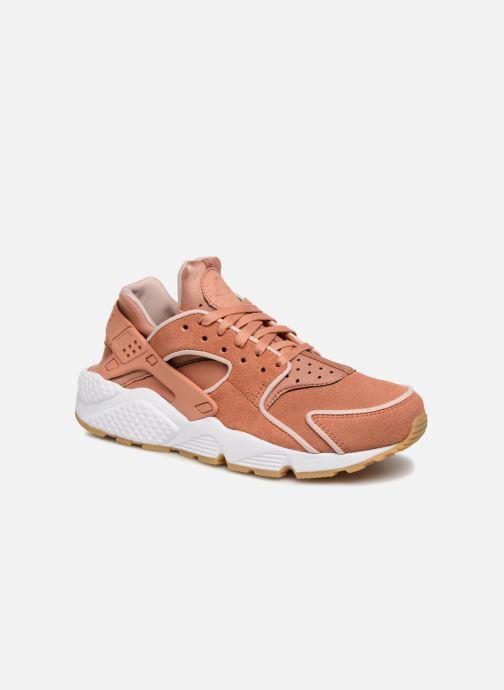 Sneakers Nike Wmns Air Huarache Run Prm Rosa detaljerad bild på paret