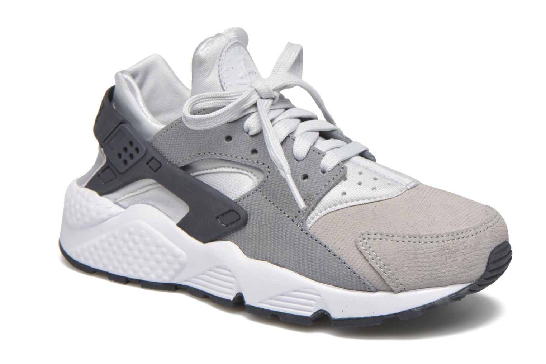 Sneakers Nike Wmns Air Huarache Run Prm Grå detaljerad bild på paret