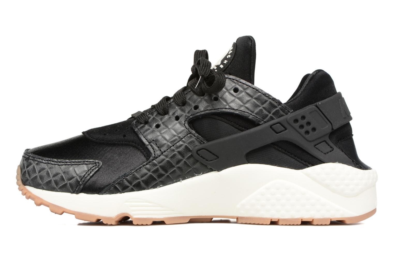 Sneakers Nike Wmns Air Huarache Run Prm Svart bild från framsidan