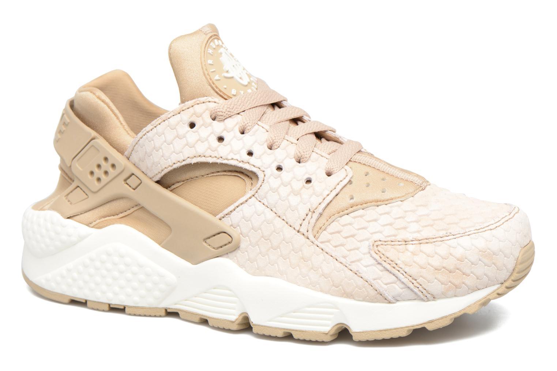 Sneakers Nike Wmns Air Huarache Run Prm Beige detaljerad bild på paret