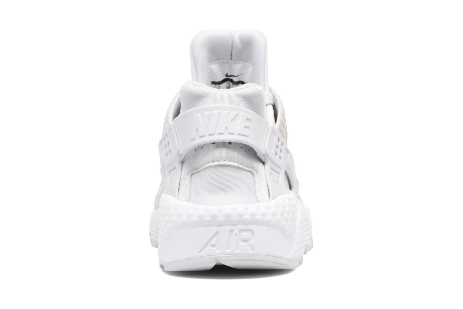 Baskets Nike Wmns Air Huarache Run Prm Blanc vue droite