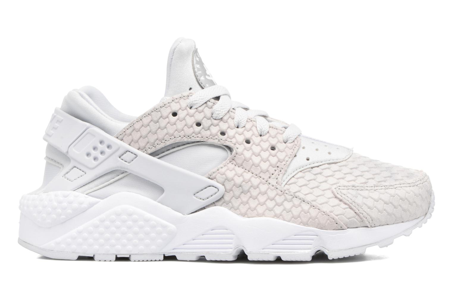 Baskets Nike Wmns Air Huarache Run Prm Blanc vue derrière