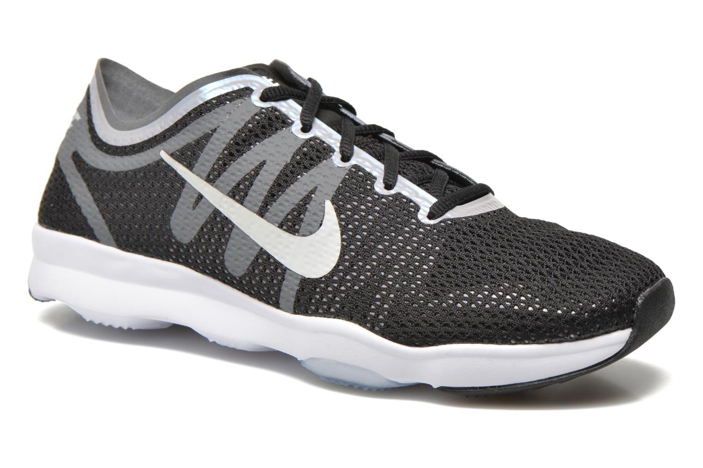 Chaussures de sport Nike Wmns Nike Air Zoom Fit 2 Noir vue détail/paire