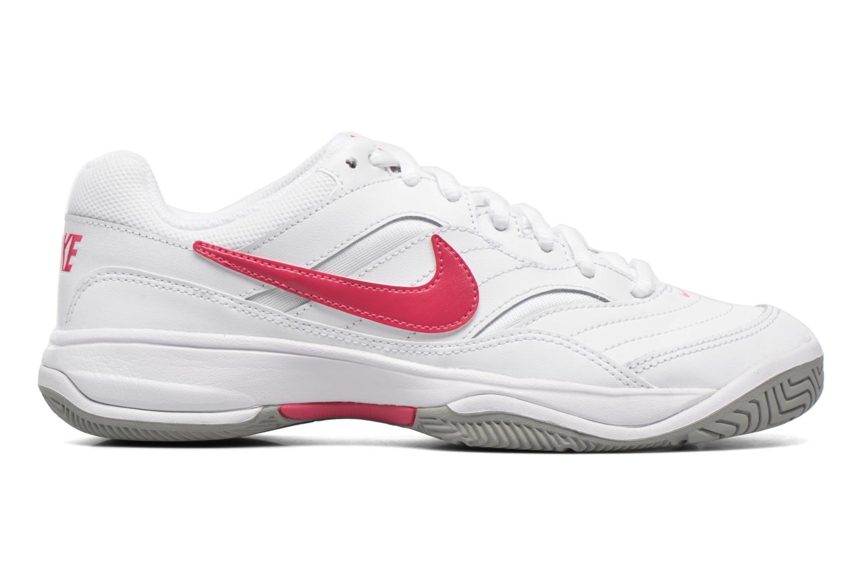 Chaussures de sport Nike Wmns Nike Court Lite Blanc vue derrière