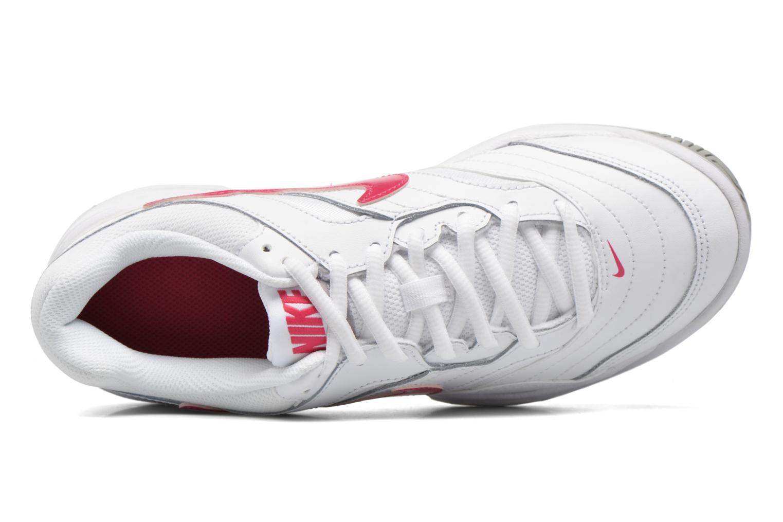 Chaussures de sport Nike Wmns Nike Court Lite Blanc vue gauche
