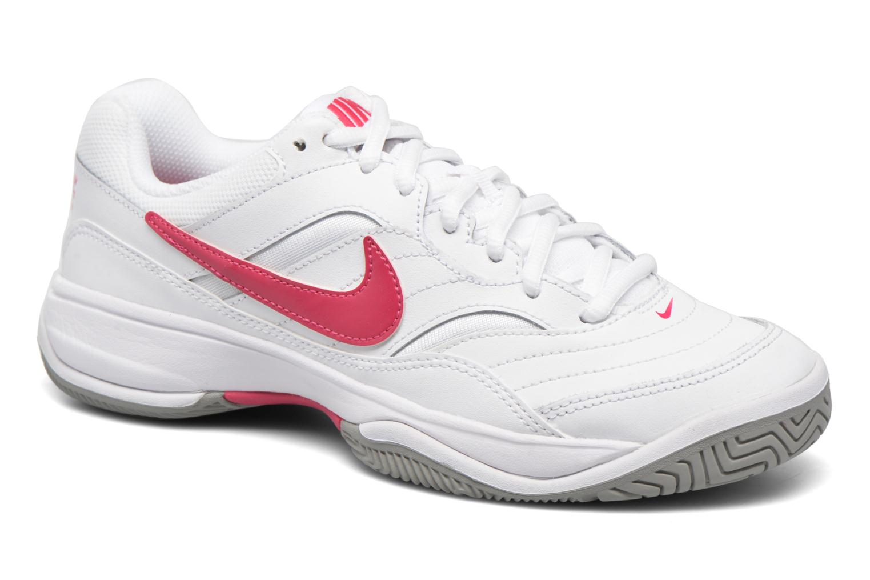 Chaussures de sport Nike Wmns Nike Court Lite Blanc vue détail/paire