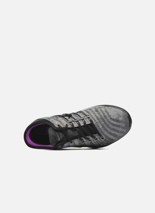Chaussures de sport Nike Wmns Nike Free Tr 6 Mtlc Gris vue gauche