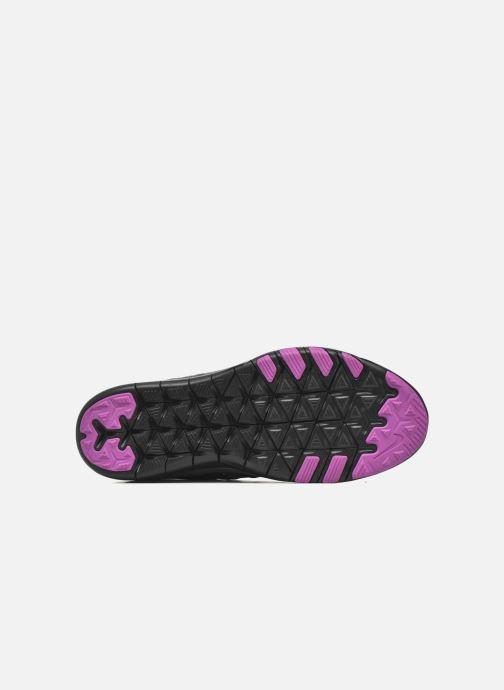 Chaussures de sport Nike Wmns Nike Free Tr 6 Mtlc Gris vue haut
