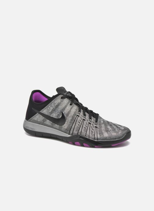 Zapatillas de deporte Nike Wmns Nike Free Tr 6 Mtlc Gris vista de detalle / par