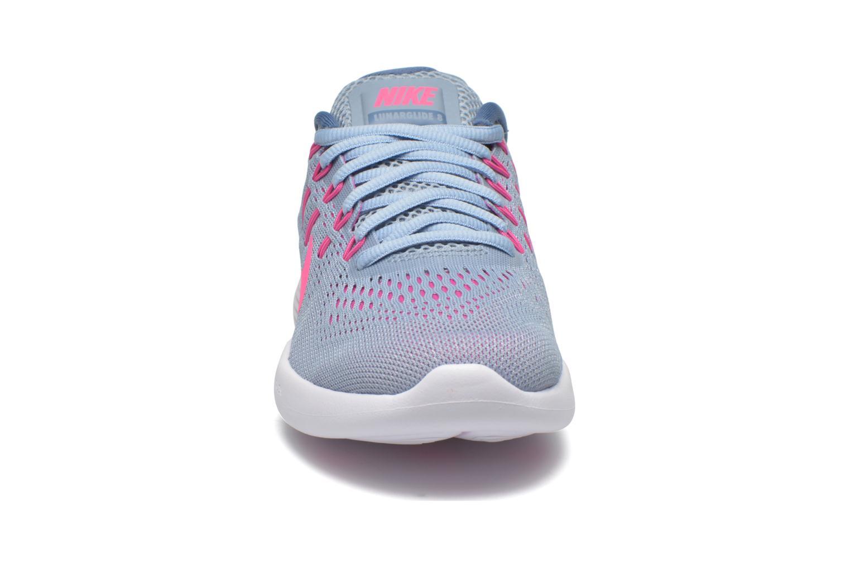 Chaussures de sport Nike Wmns Nike Lunarglide 8 Gris vue portées chaussures