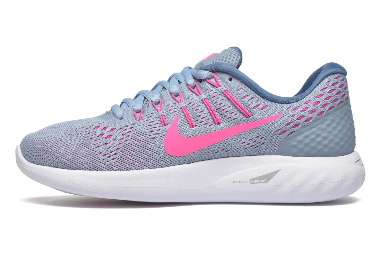Chaussures de sport Nike Wmns Nike Lunarglide 8 Gris vue face