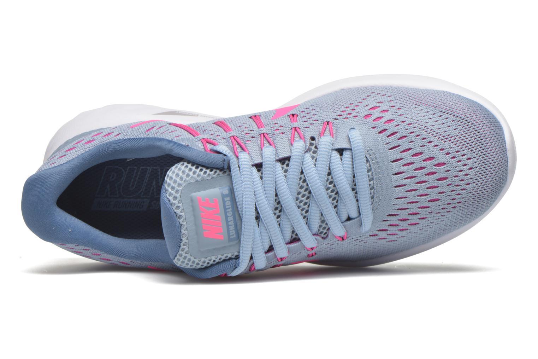 Chaussures de sport Nike Wmns Nike Lunarglide 8 Gris vue gauche