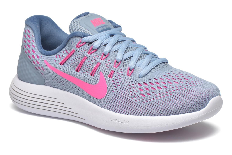 Chaussures de sport Nike Wmns Nike Lunarglide 8 Gris vue détail/paire