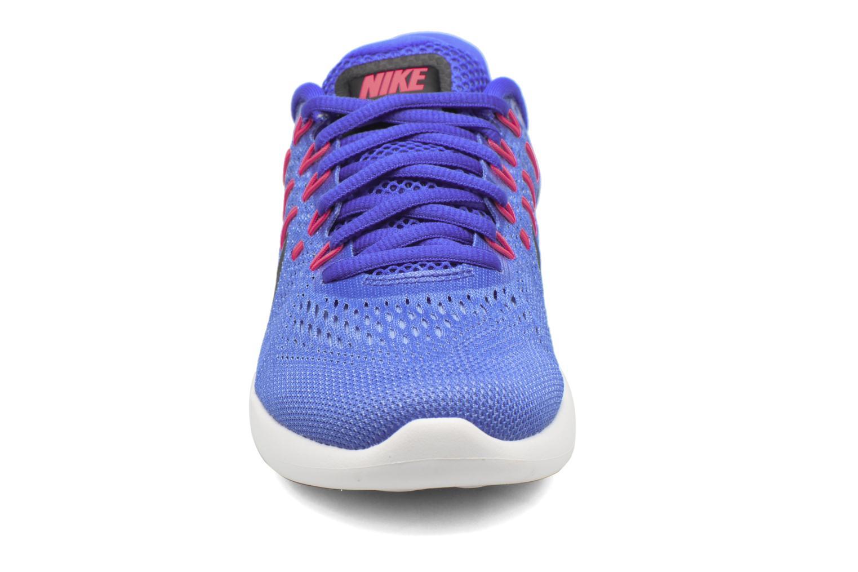 Chaussures de sport Nike Wmns Nike Lunarglide 8 Bleu vue portées chaussures