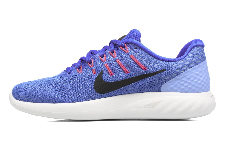 Chaussures de sport Nike Wmns Nike Lunarglide 8 Bleu vue face