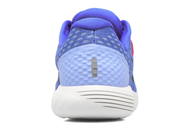Chaussures de sport Nike Wmns Nike Lunarglide 8 Bleu vue droite