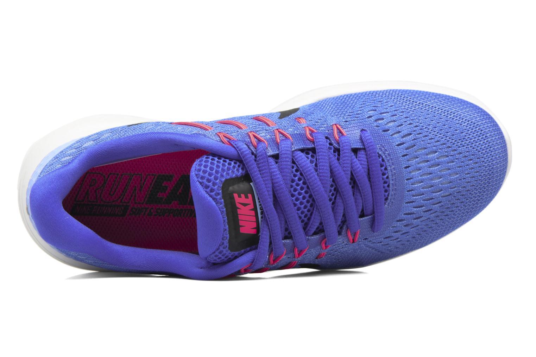 Chaussures de sport Nike Wmns Nike Lunarglide 8 Bleu vue gauche