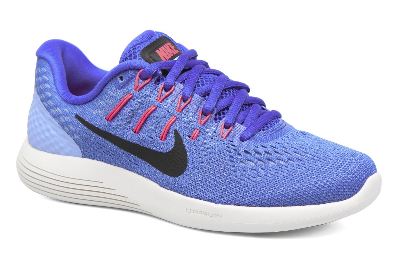 Chaussures de sport Nike Wmns Nike Lunarglide 8 Bleu vue détail/paire