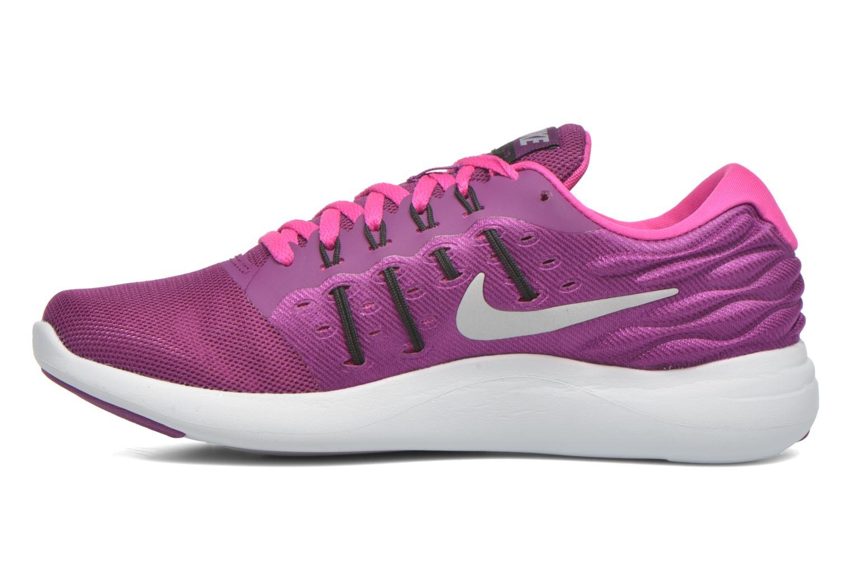 Chaussures de sport Nike Wmns Nike Lunarstelos Violet vue face