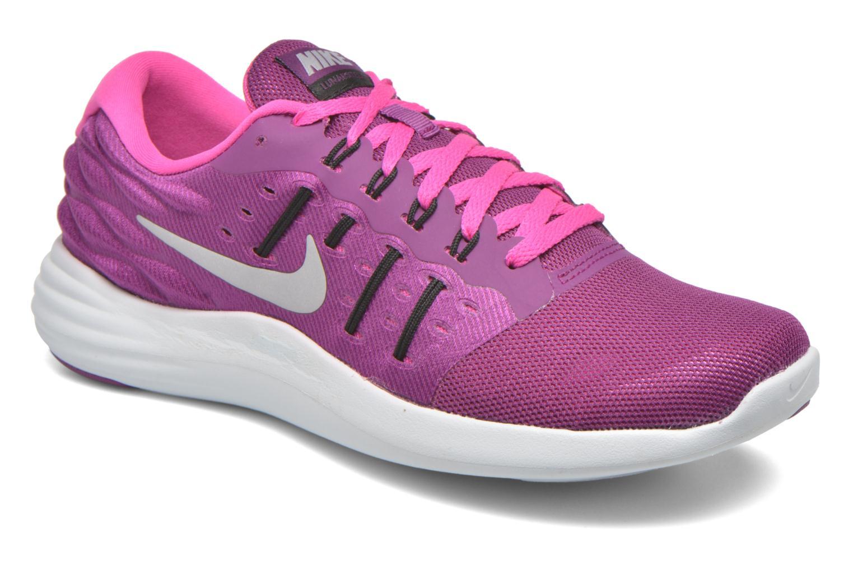 Chaussures de sport Nike Wmns Nike Lunarstelos Violet vue détail/paire