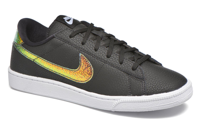 Sneakers Nike Wmns Tennis Classic Prm Sort detaljeret billede af skoene