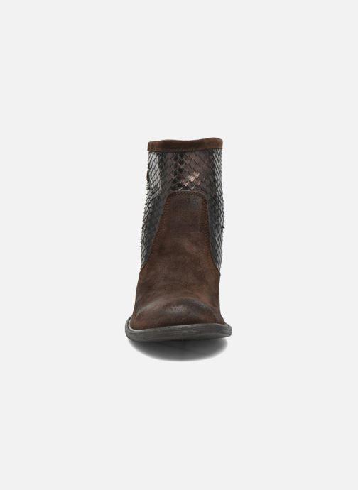 Bottines et boots Sweet Lemon L.5.Envie Marron vue portées chaussures