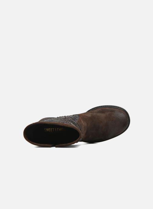 Bottines et boots Sweet Lemon L.5.Envie Marron vue gauche