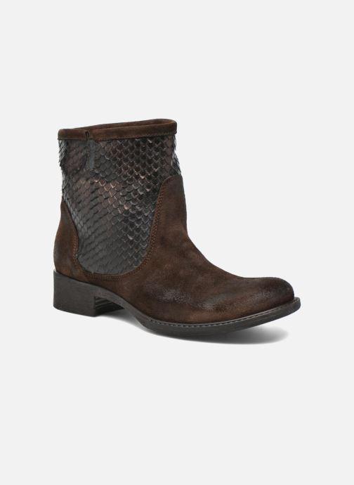 Bottines et boots Sweet Lemon L.5.Envie Marron vue détail/paire