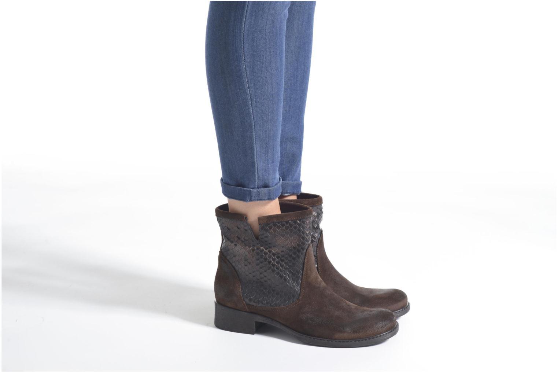 Bottines et boots Sweet Lemon L.5.Envie Marron vue bas / vue portée sac