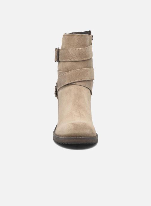 Bottines et boots Sweet Lemon L.5.Escofi Beige vue portées chaussures