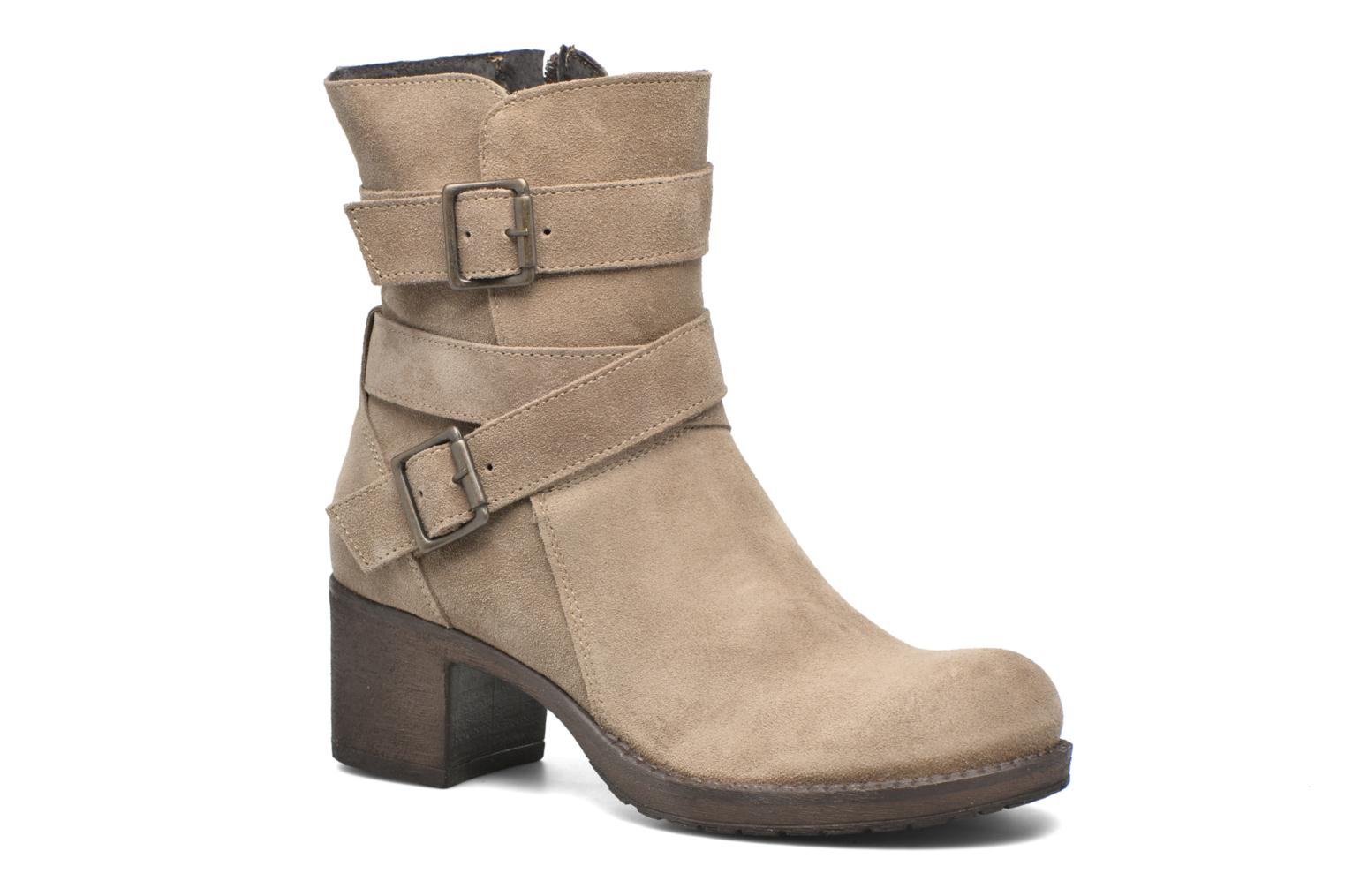 Bottines et boots Sweet Lemon L.5.Escofi Beige vue détail/paire