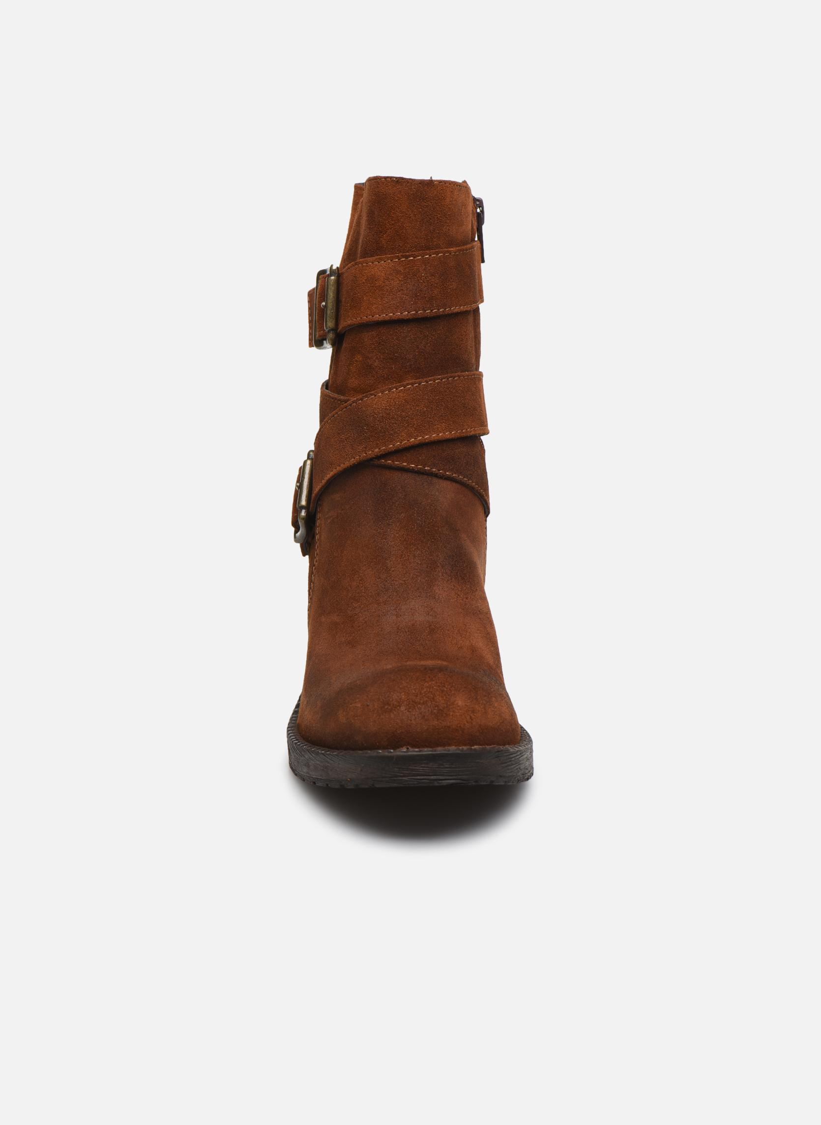 Bottines et boots Sweet Lemon L.5.Escofi Noir vue portées chaussures