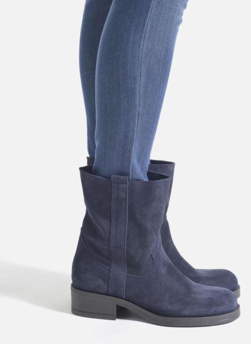 Bottines et boots Sweet Lemon L.5.Entour Bleu vue bas / vue portée sac