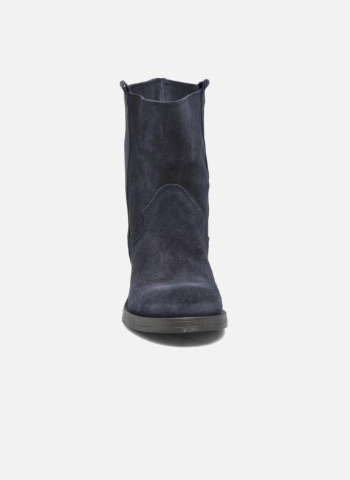 Bottines et boots Sweet Lemon L.5.Entour Bleu vue portées chaussures