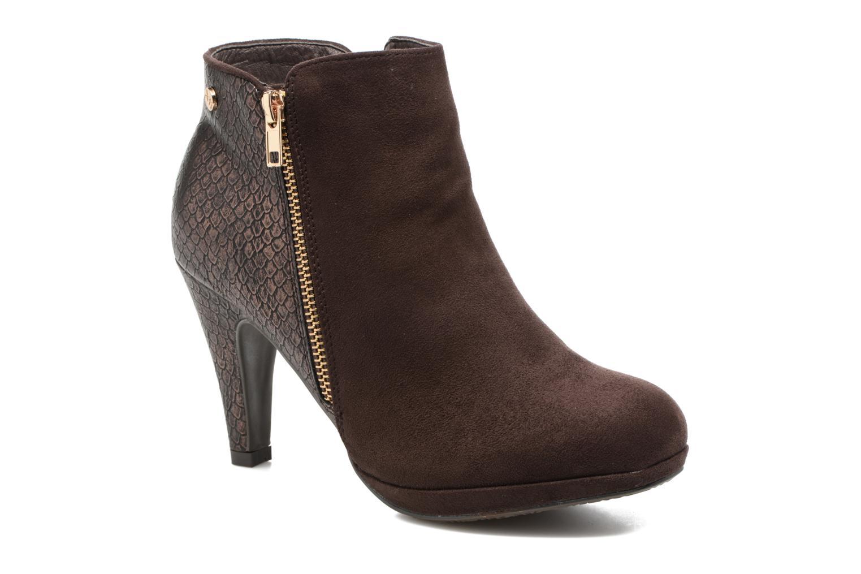 Ankelstøvler Xti Fresia-30222 Brun detaljeret billede af skoene