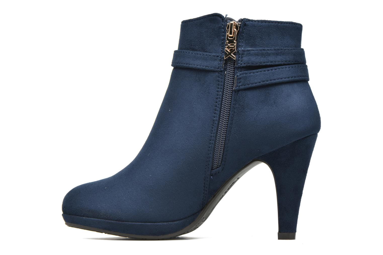 Bottines et boots Xti Poppy-46013 Bleu vue face