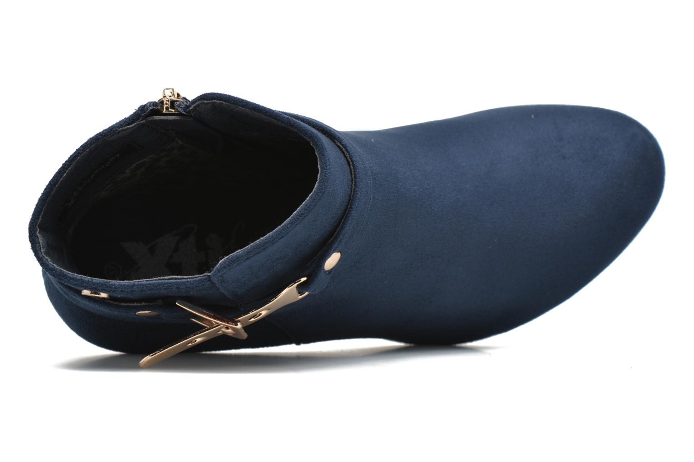 Bottines et boots Xti Poppy-46013 Bleu vue gauche