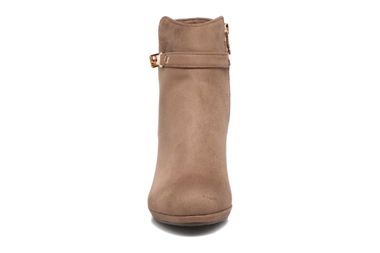 Bottines et boots Xti Poppy-46013 Marron vue portées chaussures