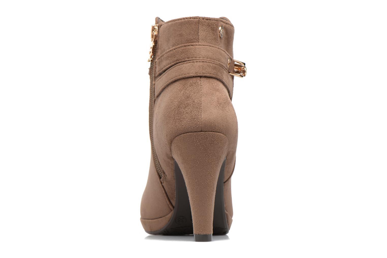 Bottines et boots Xti Poppy-46013 Marron vue droite