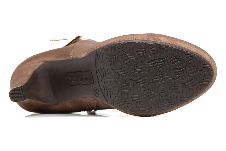 Bottines et boots Xti Poppy-46013 Marron vue haut