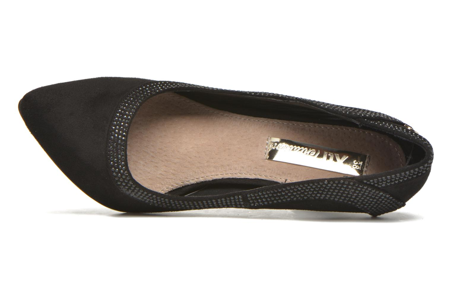 High heels Xti Wendy-30217 Black view from the left