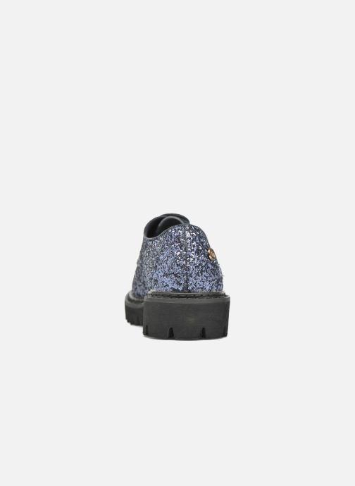 Chaussures à lacets Xti Paillettes-30324 Bleu vue droite